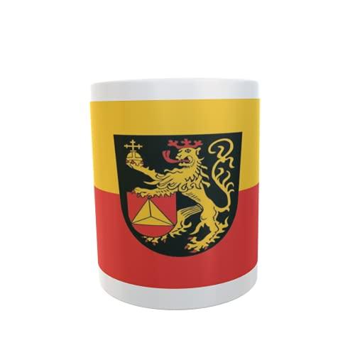 U24 Tasse Kaffeebecher Mug Cup Flagge Frankenthal