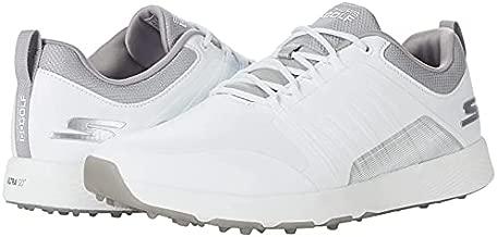 Skechers mens Elite 4 Waterproof Golf Shoe, White/Gray Victory, 10 US