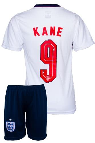 StoneMale 2021 England Heim Harry Kane #9 Kinder Trikot Europäische Nationalmannschaften (152, 8-9 Jahre)