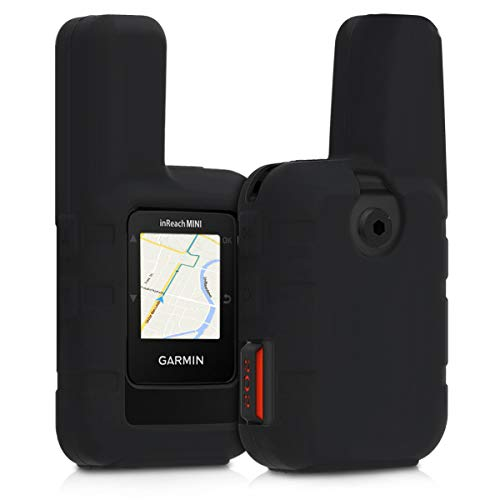 kwmobile Cover in silicone compatibile con Garmin inReach Mini - Custodia protettiva antiscivolo compatibile con dispositivi GPS di navigazione - Protezione navigatore