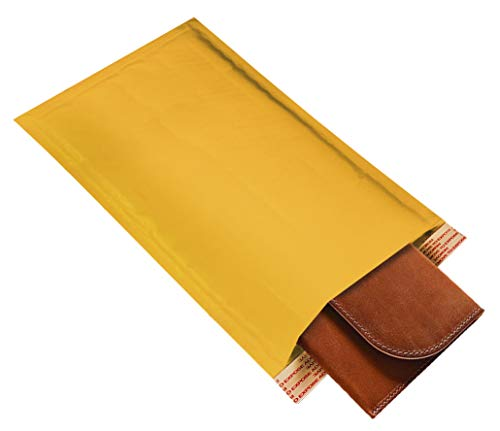 Amiff Kraft Bubble mailers 6x9 Padded envelopes 6 x 9. Exterior Size 7x10 (7 x 10). Peel & Seal. Mailing & Shipping & Packing & Packaging. Pack of 10 Kraft Paper Cushion envelopes. Photo #2