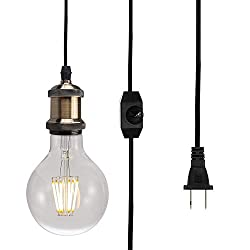 Edison Bulb Hanging Light Fixture