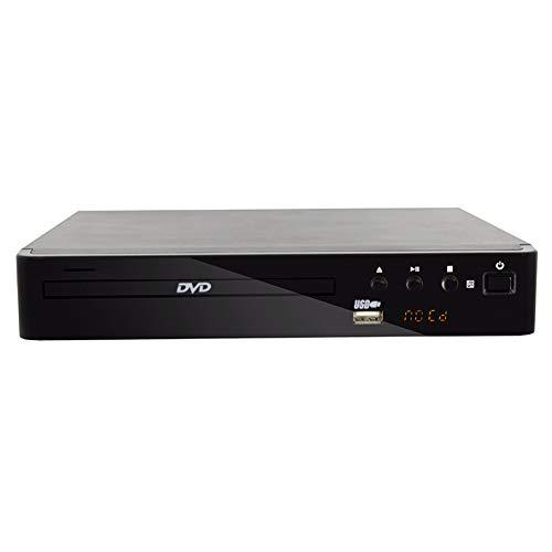 Lees CD-speler, draagbare dvd-speler voor TV thuis ondersteuning voor USB-poort compacte multi-zone DVD/SVCD/CD-speler met afstandsbediening