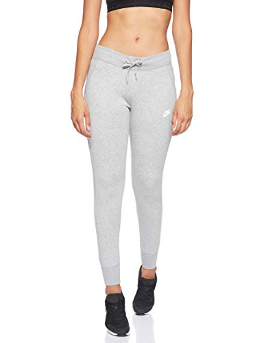 Nike W NSW Pant FLC Tight - Hose Damen, Farbe Grau, Größe XL