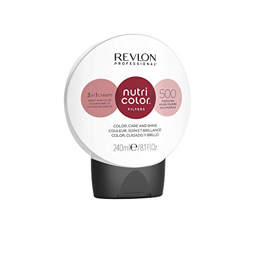 REVLON PROFESSIONAL Nutri Color Filters #500 Fire Red 240 ml