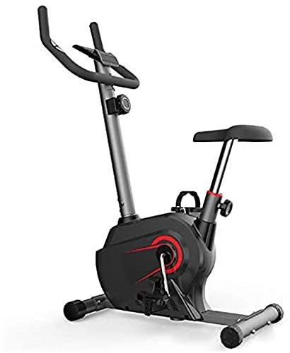 LLKK Mute Bicicleta de ejercicio, Magnetron Spinning Bike Sensores de uso en el hogar Bicicleta estacionaria para interiores con LCD, frecuencia cardíaca, equipo de gimnasio para interior