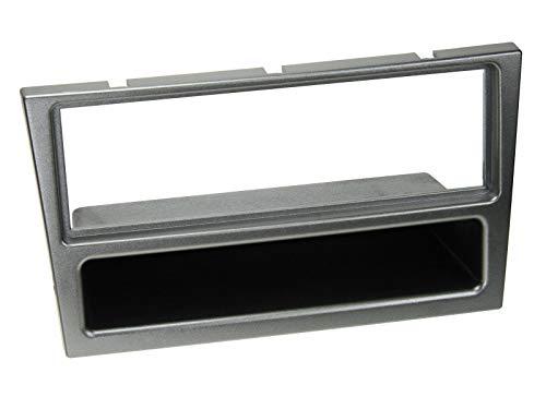 1-DIN RB mit Fach Opel Corsa C aluminium