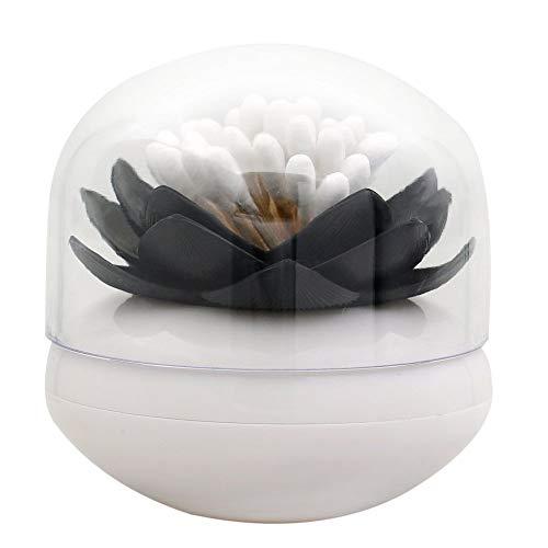 nulala q-tips halter wattestäbchen organizer, lotus zahnstocher wattestäbchen barrel box