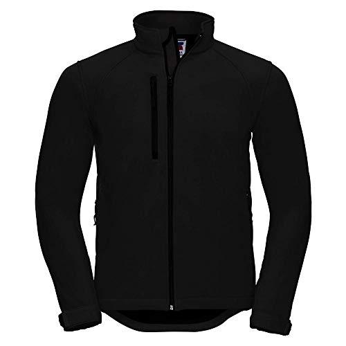 Russell - Soft Shell Jacket - bis 4XL XL,Black