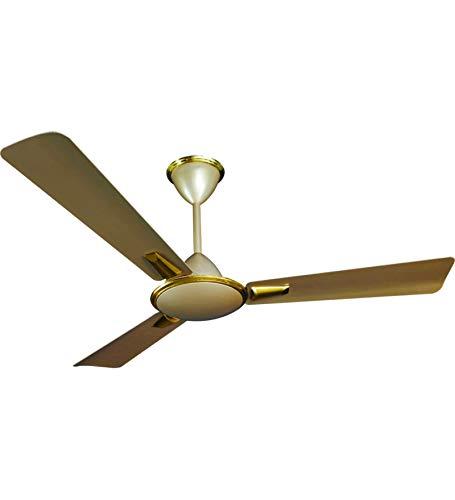 Crompton Aluminum Aura Prime Anti Dust 1200 Mm Ceiling Fan (Husky Gold)