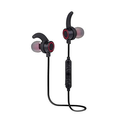 YYZLG M10 Metall Magnetischer Subwoofer Sport Bluetooth Headset In-Ear Bluetooth Headset-Black