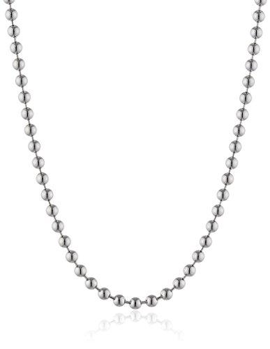 Engelsrufer Damen-Kugelkette Stärke 2,0mm 925 Silber rhodiniert 70 cm - ERNK-70-2S