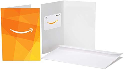 Tarjeta Regalo Amazon.es - €30 (Amazon – Motivos naranjas)