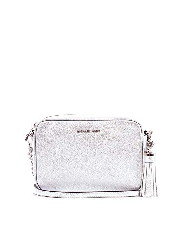 Michael Kors 32F7MGNM6M TRACOLLA Donna SILVER GENERICA