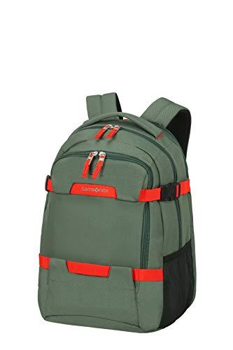 Samsonite Sonora - 15.6 zoll Laptoprucksack Erweiterbar, 45 cm, 34 L, Grün (Thyme Green)