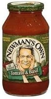 Newman's Pasta Sauce Tomato & Basil Bombolina 24 FZ (Pack of 4)