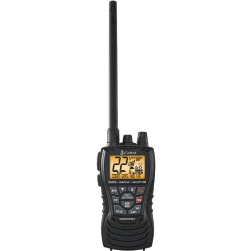 Cobra MR HH450 DUAL Handheld Floating VHF Radio – 6...