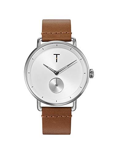 Tylor Watches Men's Retro Tlah001 Ανδρικο Καφε Ρολοι Quartz