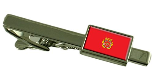 Select Gifts Murcia Ciudad Clip de Corbata Bandera España