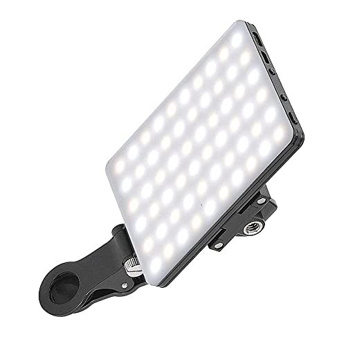Moye 60 LED Cellulare Laptop Streaming Live Lampada a Luce di riempimento 3200K 5600K Selfie Light per Telefono Vlog Video Live