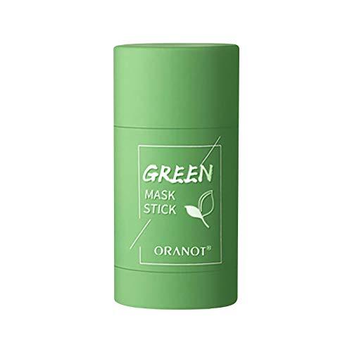 Green Tea Purifying Clay Mask Stick Amélioration de L'Hydratation la Peau Face Moisturizes Contrôle L'huile Nettoie Améliore Blackhead Remover Réduction Points Noirs Pores Shrink Hydrating