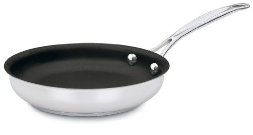 Cuisinart 722-20NS Chef's Classic Stainless Nonstick 8-Inch Open Skillet