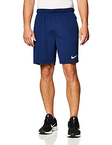NIKE M Nk Dry Short 5.0 Shorts, Blue Void/Game Royal/White,...
