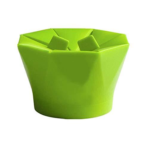 Find Bargain creatYspace-US Silicone Microwave Popcorn Maker Popcorn Popper Homemade Delicious Popco...