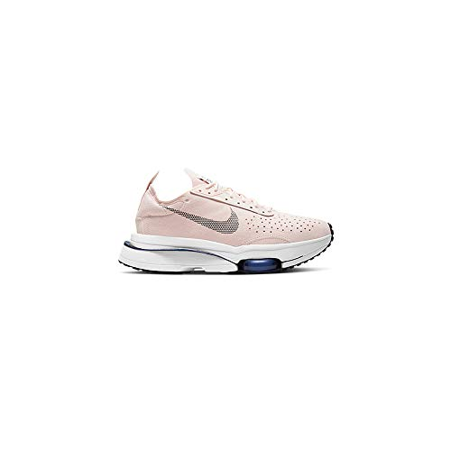 Nike W Air Zoom Type, Zapatillas para Correr Mujer, Orange Pearl Black White Deep Royal Blue, 38 EU