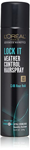 L'Oréal Paris Advanced Hairstyle LOCK IT Weather Control Hairspray, 8.25 oz. (Packaging May Vary)