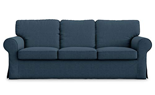 TLY Funda de sofá de 3 plazas de poliéster Ektorp Hecha para la Funda de sofá de 3 plazas IKEA Ektorp