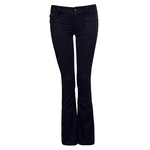 ONLY Jeans Bootcut Ebba Soft Black Größe: 27 Länge: 34 Farbe: Black