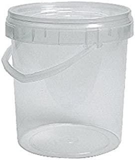Cubo plástico uso alimentario redondo 3.000cc Litros (Paquete 72 Unds.)