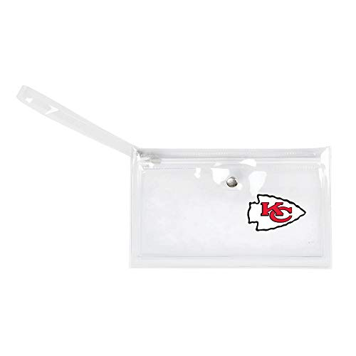 NFL Dallas Cowboys Unisex Nflnfl Ticket Wristlet, Clear, 9