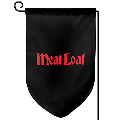 Meat Loaf Band Logo Garden Flag 12.5x18in Double Sided Fashion Flag Indoor Outdoor Flag For Yard Home Decor,Band Hip Hop Rock Style