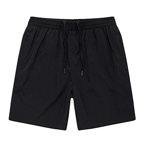 N\P Pantalones cortos deportivos para hombre, de verano, sueltos, de secado rápido, para hombre, delgados, grandes, casuales, de tres puntos