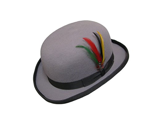 Viz-uk wear - Chapeau melon - Homme - Gris - Large