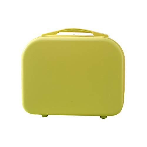 gszfsm001 - Bolsa de cosméticos especial para mujeres de 14 pulgadas Mini de mano de viaje cosmética pequeña maleta de almacenamiento portátil multifunción pequeña