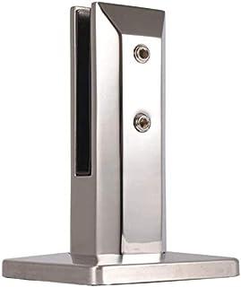 Glasklemme Edelstahl Glashalter für Treppen//Balkon//Handlauf//Pool Glasklemmhalter