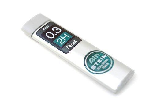 ぺんてる シャープペンシル替芯 Ain 替芯 シュタイン 0.3mm 2H C273-2H