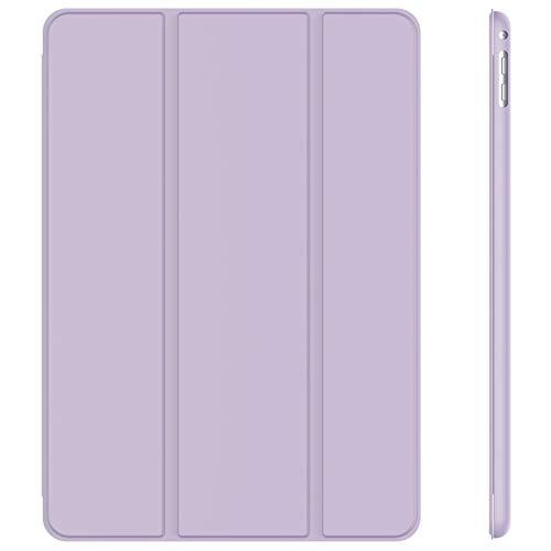 JETech Funda para iPad Air 2, Carcasa con Soporte Función, Auto-Sueño/Estela, Púrpura...