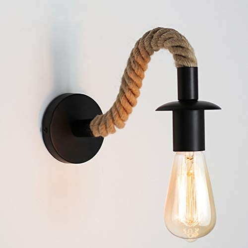 Atmosphere It Directly managed store is very popular Light Wine Cannabis Lamp Wall W Rope