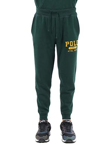 Ralph Lauren Mod. 710766796 joggingbroek Athletic Double Knit heren groen