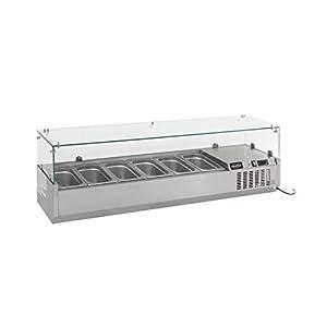 Saladette à Poser Réfrigérée Professionnelle - GN 1/3 - Combisteel - R600A 1200 mm 4 x GN 1/3