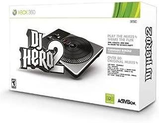 Activision Blizzard Inc, DJ Hero 2 Bundle X360 (Catalog Category: Videogame Software / XBox 360 Games)