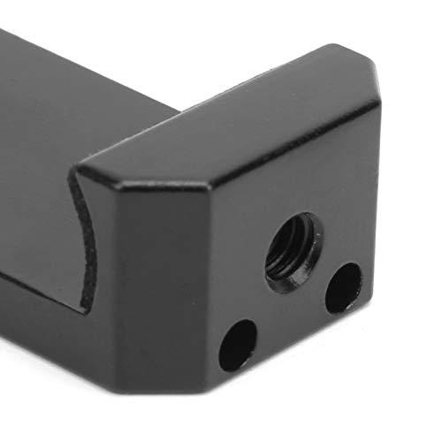 Eosnow Clip para teléfono, Clip para teléfono Inteligente Resistente al Desgaste con Zapata fría Tornillo de 1/4 pulg. para luz de Relleno para micrófono