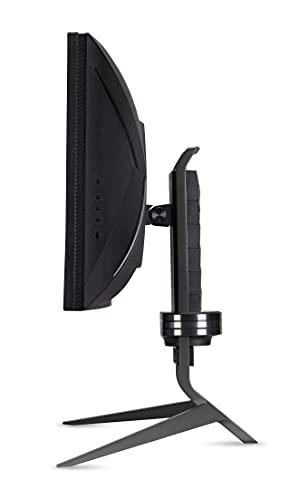 Predator X34GS Gaming Monitor 34 Zoll (86 cm Bildschirm) QHD, 180Hz OC DP/TypeC, 144Hz DP, 100Hz HDMI, 1ms (G2G), 2xHDMI 2.0, 2xDP 1.4, höhenverstellbar, GSync Compatible, HDMI VRR