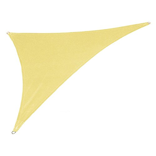 Coolaroo Coolhaven Shade Sail Right Triangle 15ft x 12ft x 9ft Sahara