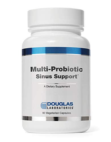Douglas Laboratories - Multi-Probiotic Sinus Support -Probiotics and Prebiotics with Additional Respiratory Support - 90 Capsules
