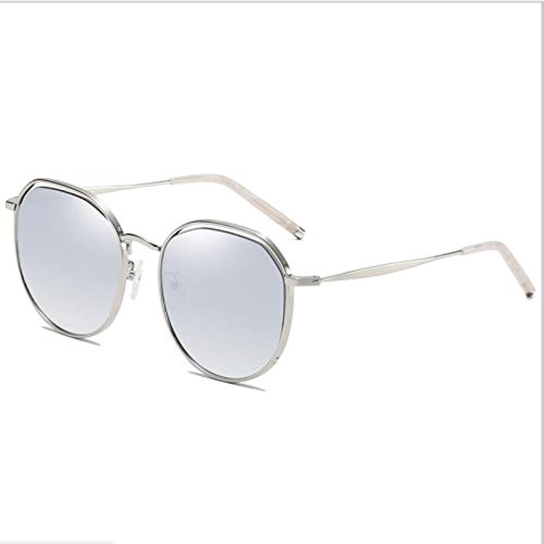 Polarized Sunglasses for Women&Men, Fashion Nylon Lens Sunglasses,100% UV Predection,Metal Mirror UV 400 Lens Predection